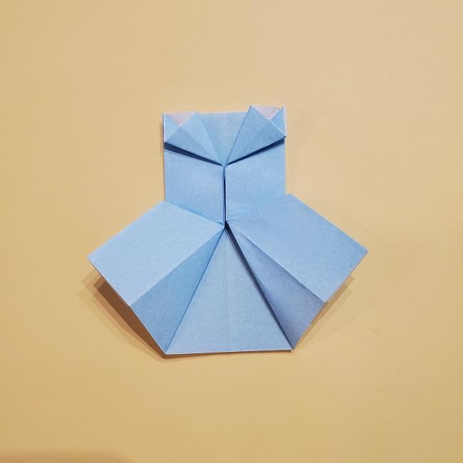 プリキュアの折り紙の作り方【キュアフォンテーヌ】 (47)