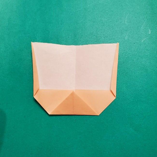 プリキュアの折り紙の作り方【キュアフォンテーヌ】 (5)