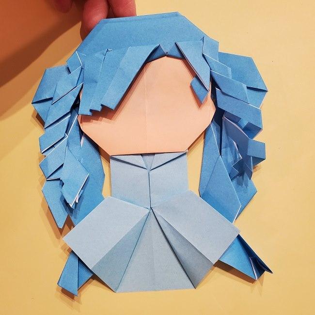 プリキュアの折り紙の作り方【キュアフォンテーヌ】 (50)