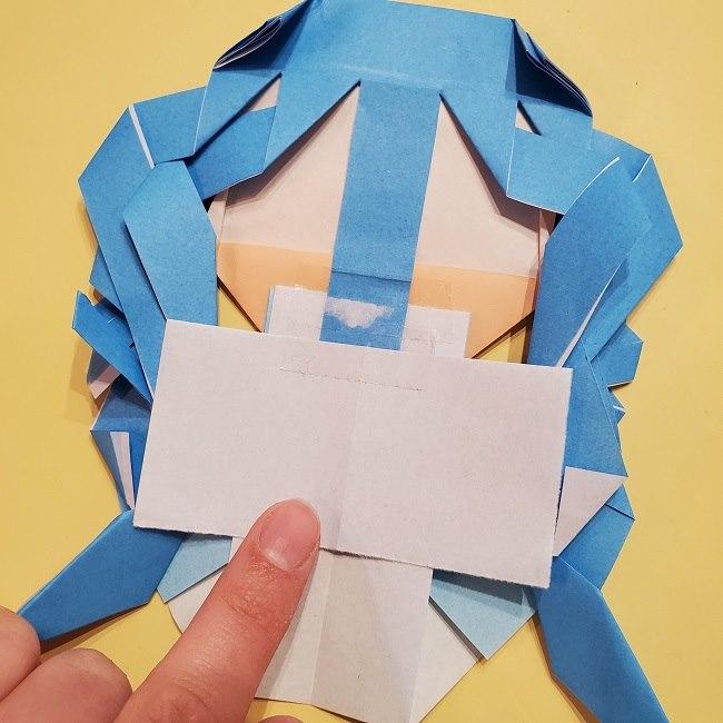 プリキュアの折り紙の作り方【キュアフォンテーヌ】 (52)