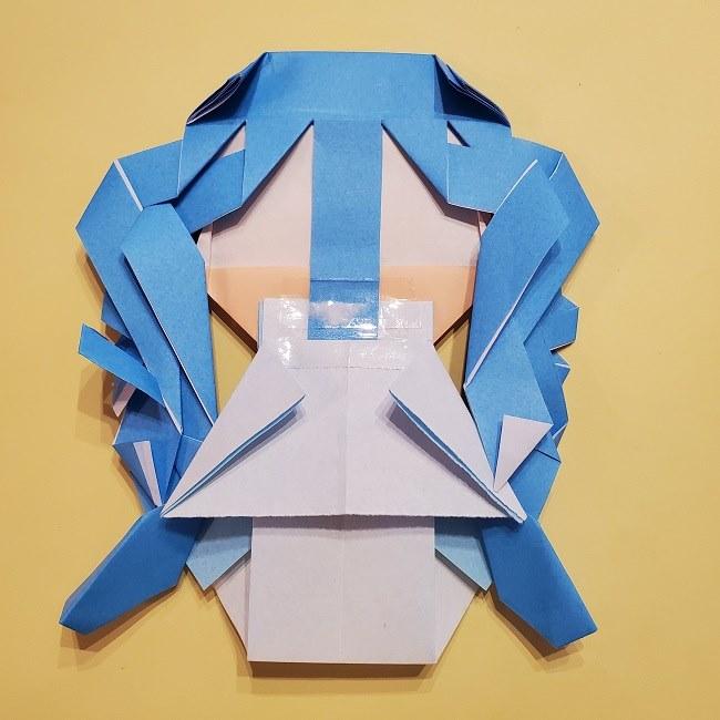 プリキュアの折り紙の作り方【キュアフォンテーヌ】 (53)