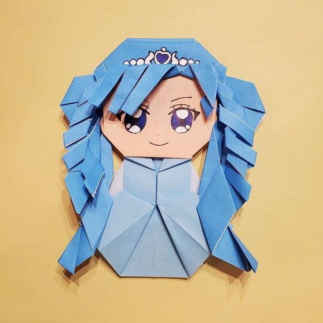 プリキュアキャラの折り紙 キュアフォンテーヌの作り方★簡単かわいい折り方を紹介