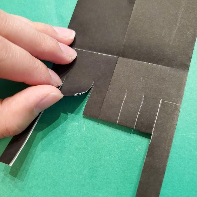 富岡義勇の折り紙の折り方・作り方 (16)