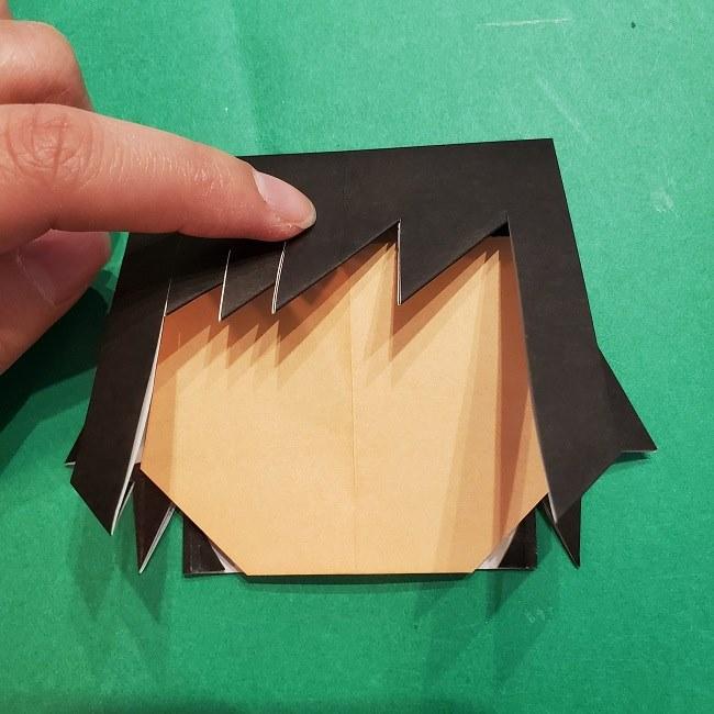 富岡義勇の折り紙の折り方・作り方 (27)