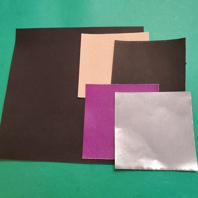 富岡義勇の折り紙*用意するもの (1)