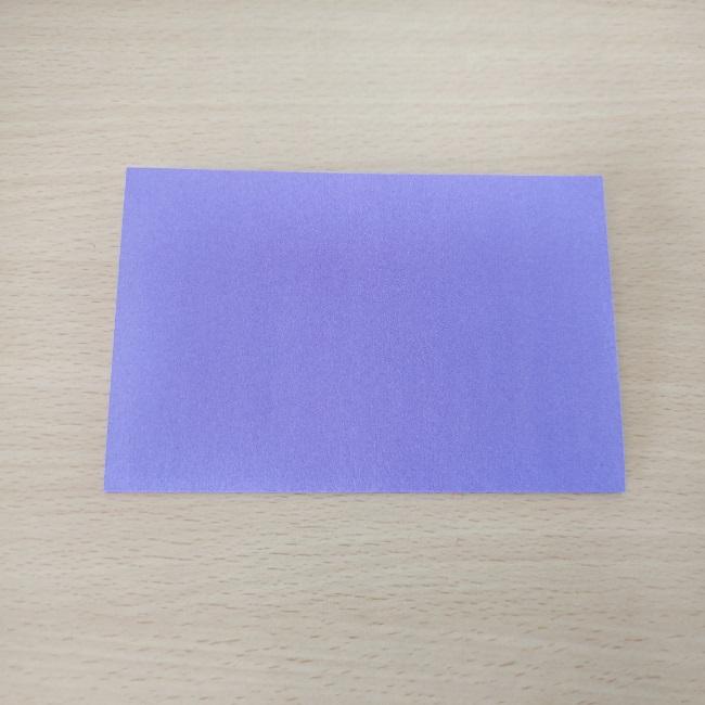 扇子の折り紙 折り方・作り方 (1)
