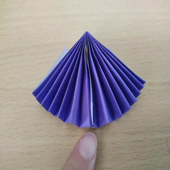 扇子の折り紙 折り方・作り方 (15)