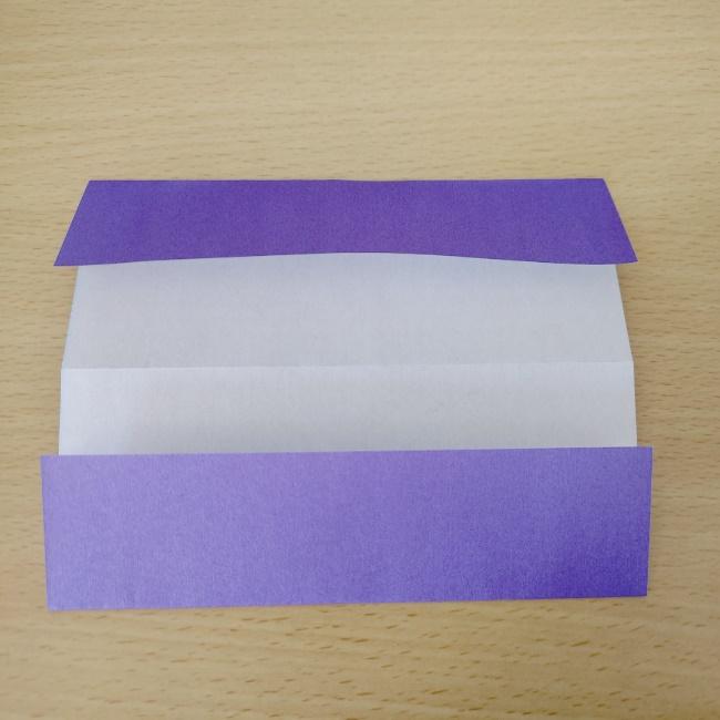 扇子の折り紙 折り方・作り方 (3)