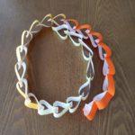 折り紙【ハートをつなげる】ガーランドの作り方!かわいい♪バレンタインの飾りつけにも!