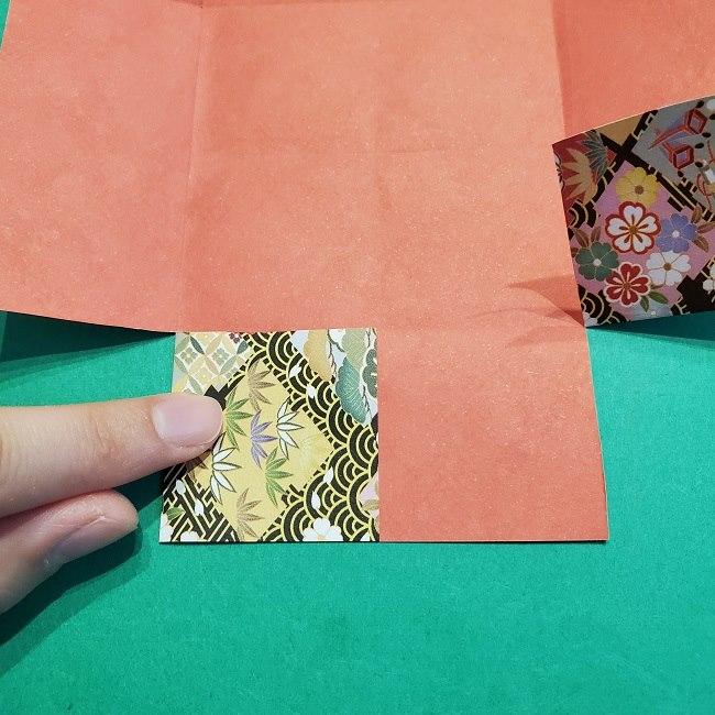 折り紙【1月の壁掛けフレーム】の作り方 (10)