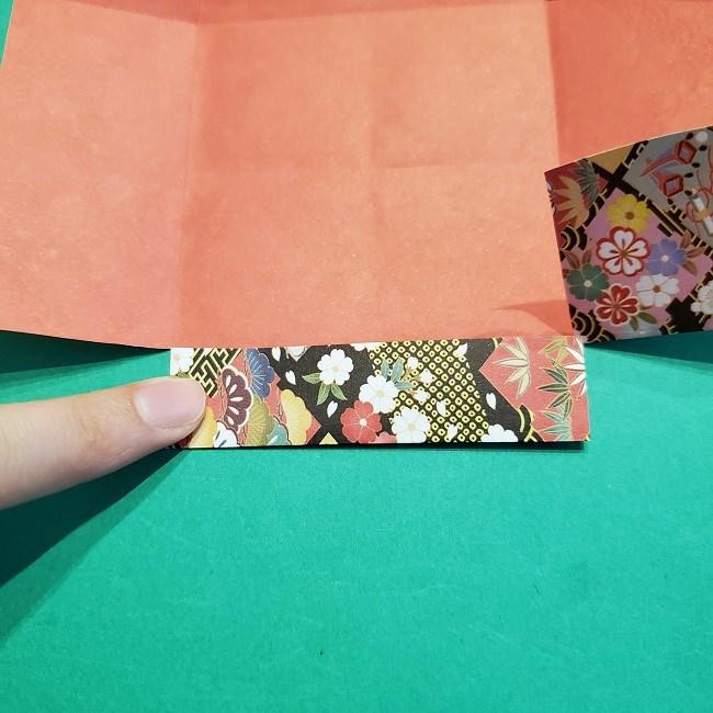 折り紙【1月の壁掛けフレーム】の作り方 (11)