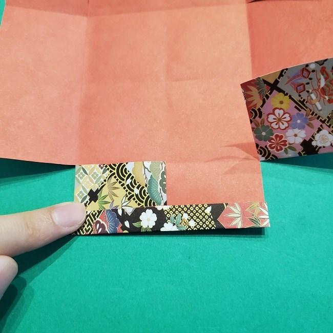 折り紙【1月の壁掛けフレーム】の作り方 (12)