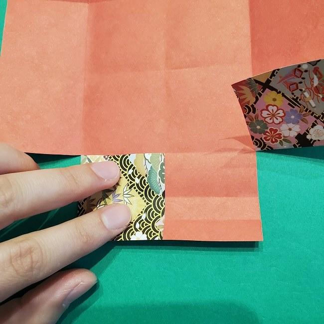 折り紙【1月の壁掛けフレーム】の作り方 (13)