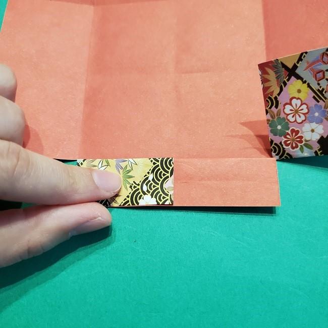 折り紙【1月の壁掛けフレーム】の作り方 (14)