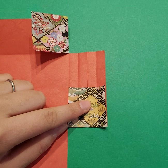 折り紙【1月の壁掛けフレーム】の作り方 (17)