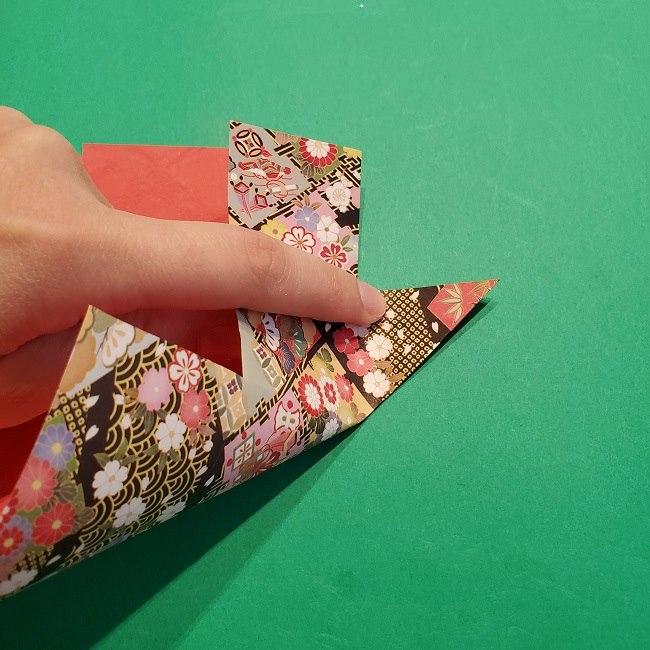 折り紙【1月の壁掛けフレーム】の作り方 (18)