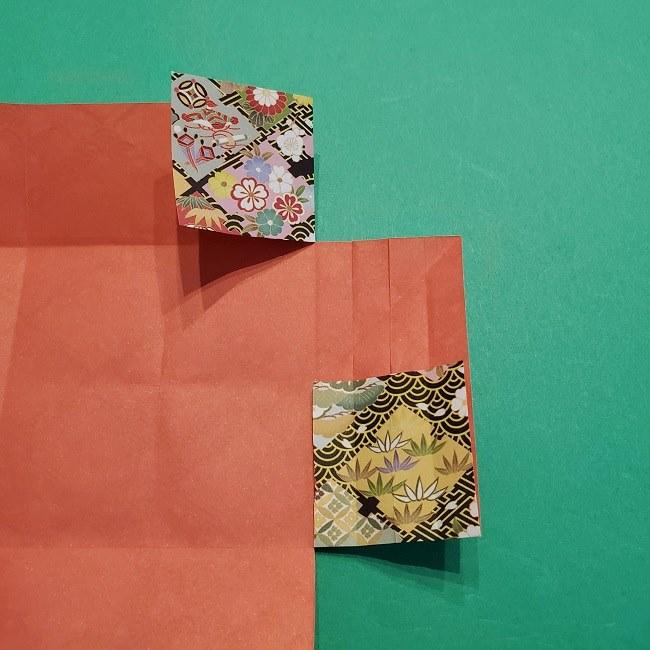 折り紙【1月の壁掛けフレーム】の作り方 (19)