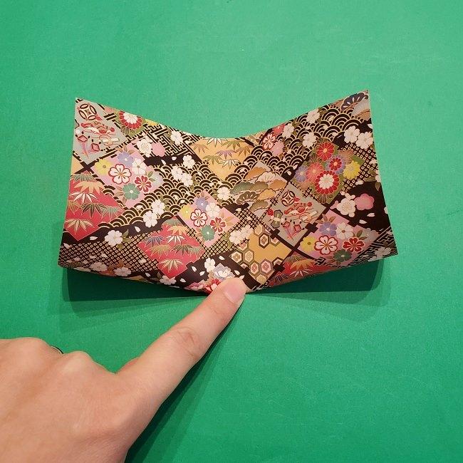 折り紙【1月の壁掛けフレーム】の作り方 (2)
