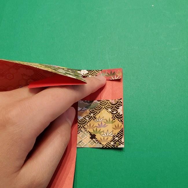 折り紙【1月の壁掛けフレーム】の作り方 (20)