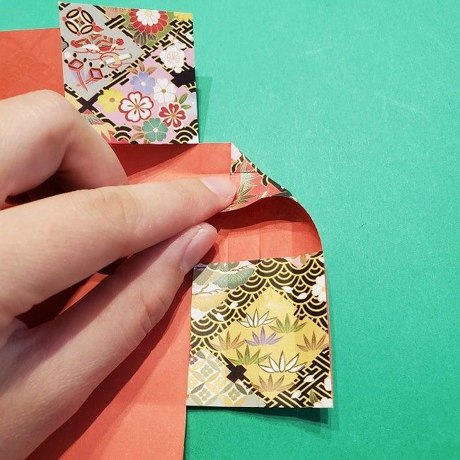 折り紙【1月の壁掛けフレーム】の作り方 (21)