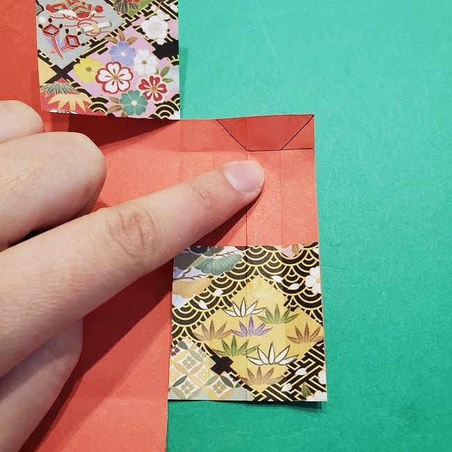 折り紙【1月の壁掛けフレーム】の作り方 (22)