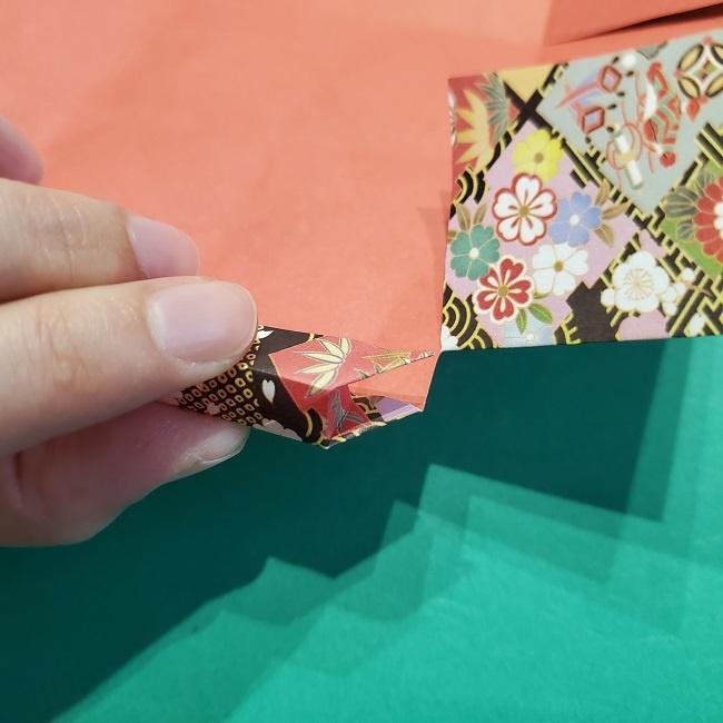 折り紙【1月の壁掛けフレーム】の作り方 (23)