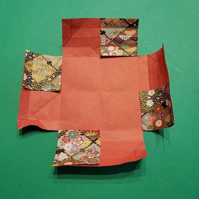 折り紙【1月の壁掛けフレーム】の作り方 (24)