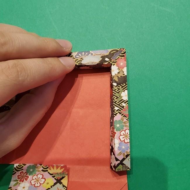折り紙【1月の壁掛けフレーム】の作り方 (26)