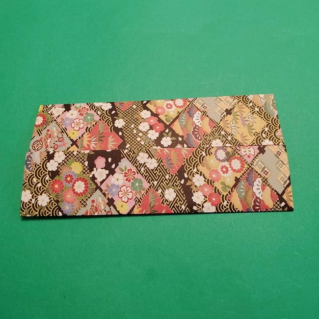 折り紙【1月の壁掛けフレーム】の作り方 (5)