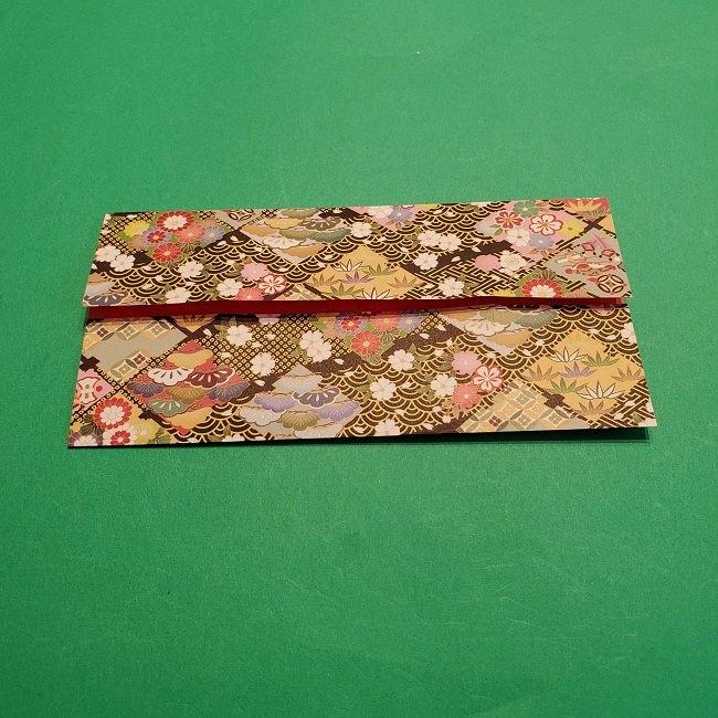 折り紙【1月の壁掛けフレーム】の作り方 (7)