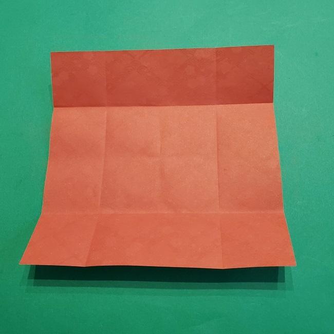 折り紙【1月の壁掛けフレーム】の作り方 (8)