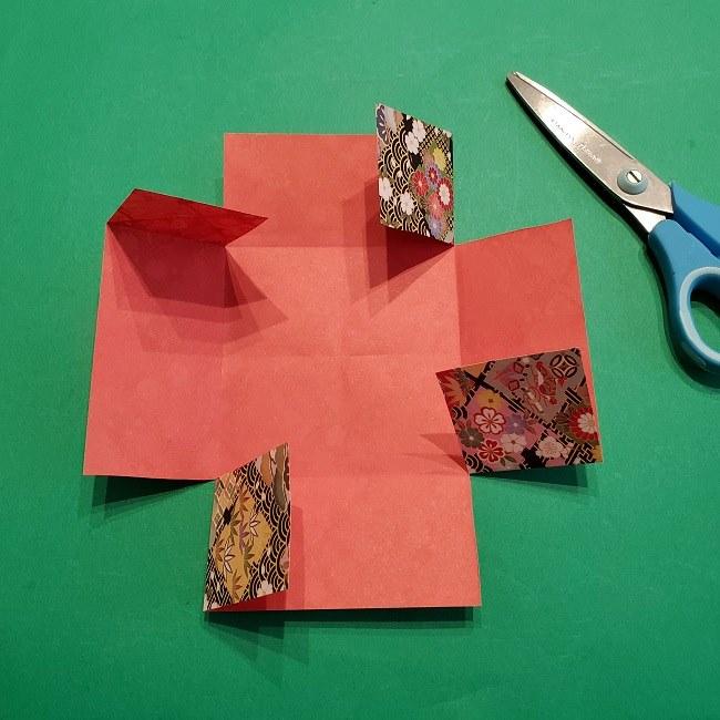 折り紙【1月の壁掛けフレーム】の作り方 (9)