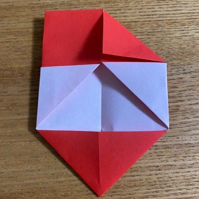 折り紙でつくる【ハートの名札】の折り方 (10)