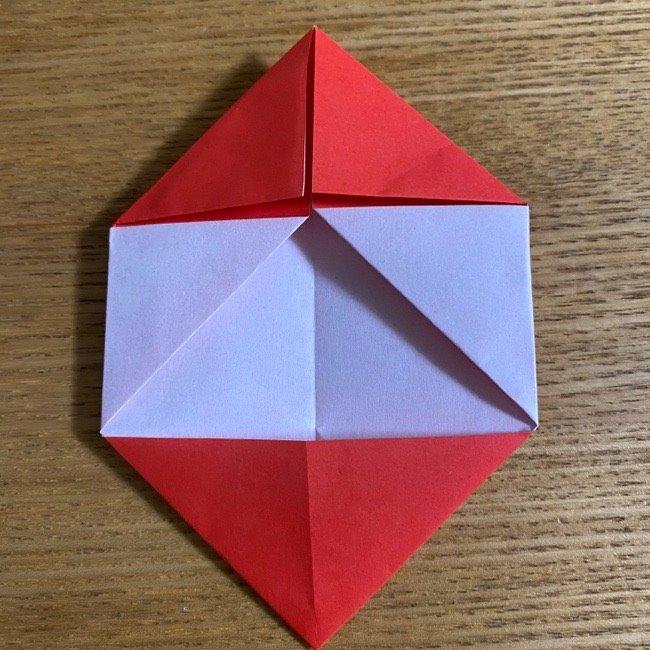 折り紙でつくる【ハートの名札】の折り方 (11)