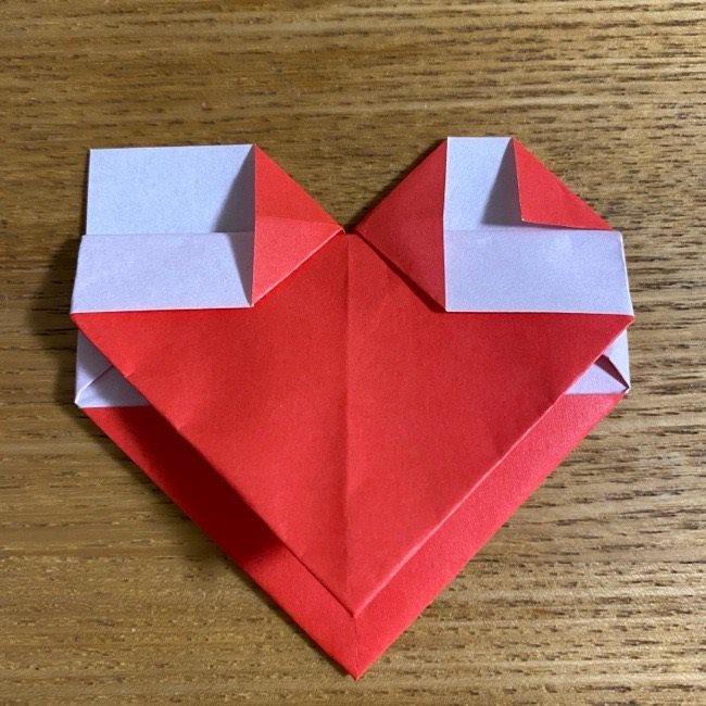 折り紙でつくる【ハートの名札】の折り方 (14)