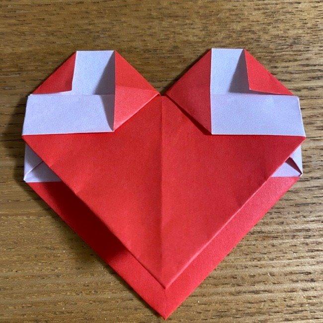 折り紙でつくる【ハートの名札】の折り方 (15)