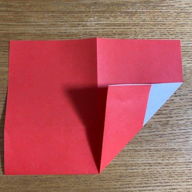 折り紙でつくる【ハートの名札】の折り方 (5)