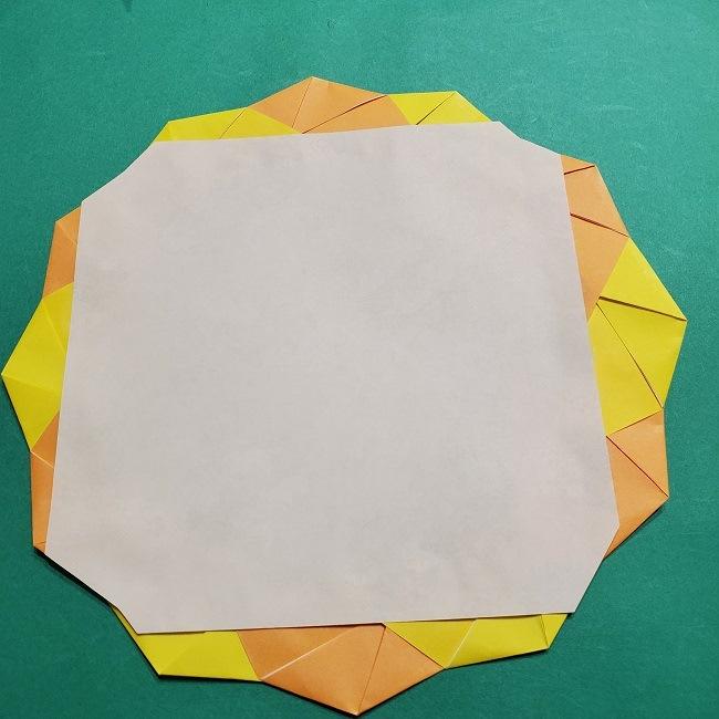 【松竹梅の折り紙リース】折り方・作り方