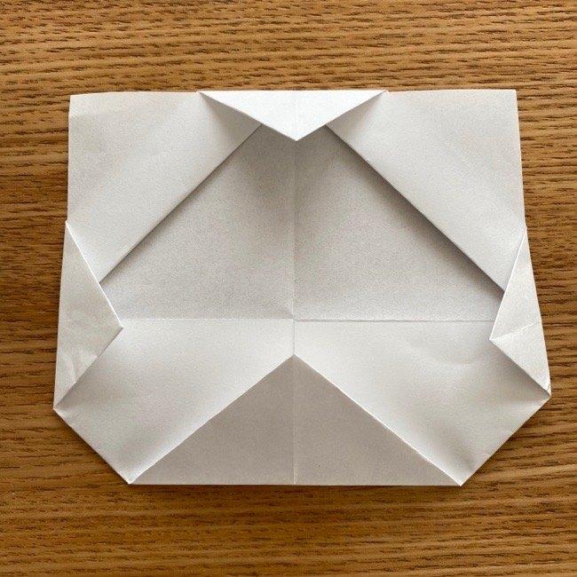 折り紙でつくる猫のひな祭りの作り方・折り方 (11)