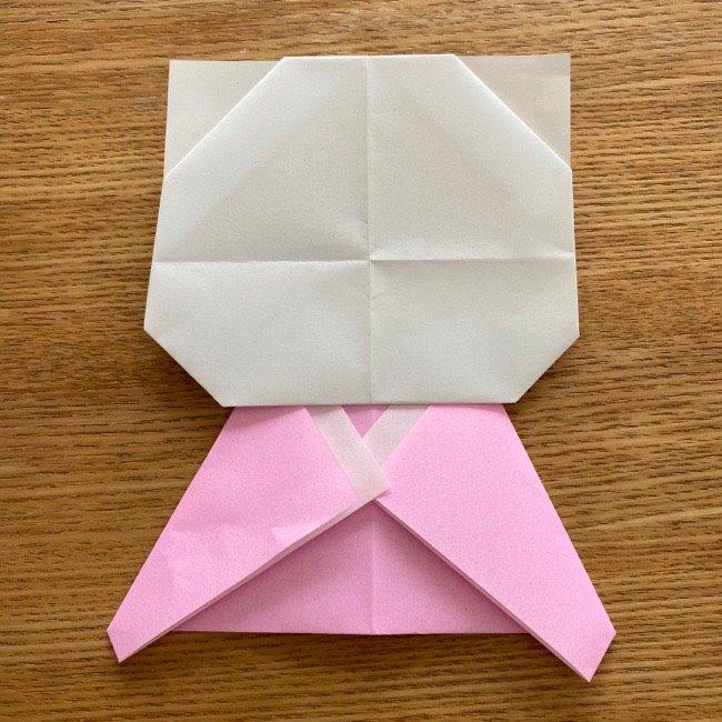 折り紙でつくる猫のひな祭りの作り方・折り方 (20)