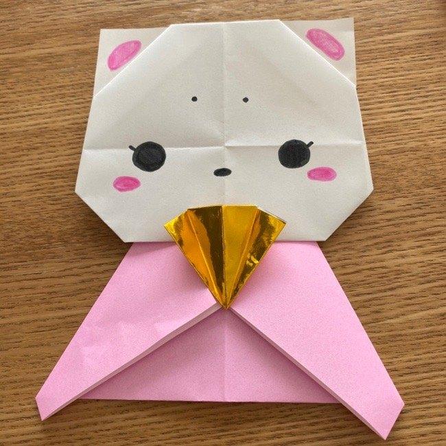 折り紙でつくる猫のひな祭りの作り方・折り方 (31)