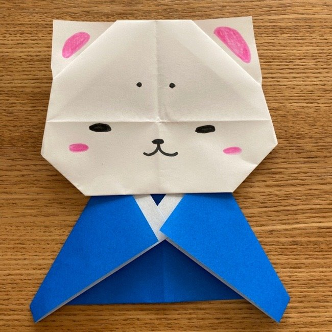 折り紙でつくる猫のひな祭りの作り方・折り方 (33)