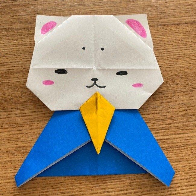 折り紙でつくる猫のひな祭りの作り方・折り方 (41)