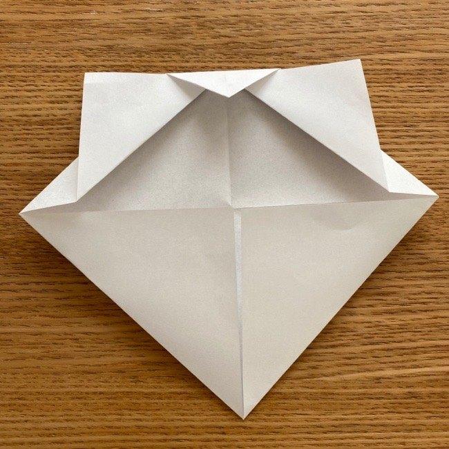 折り紙でつくる猫のひな祭りの作り方・折り方 (8)