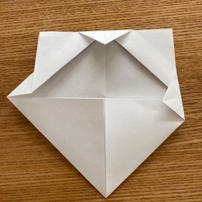 折り紙でつくる猫のひな祭りの作り方・折り方 (9)