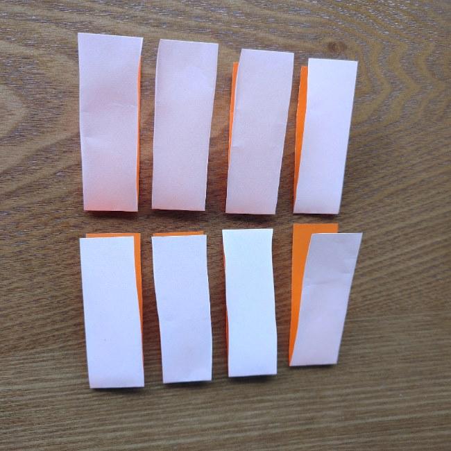 折り紙でハートをつなげる方法 (4)