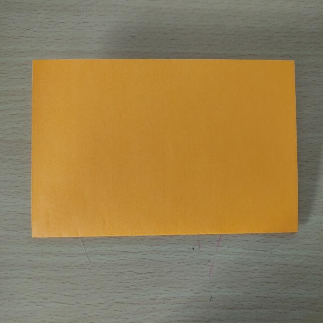 折り紙の『風船(ハート型)』の作り方 (1)