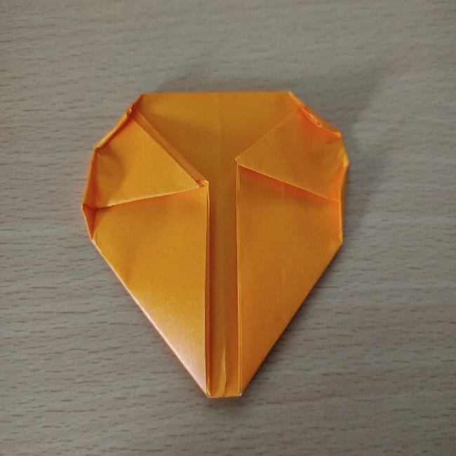 折り紙の『風船(ハート型)』の作り方 (10)