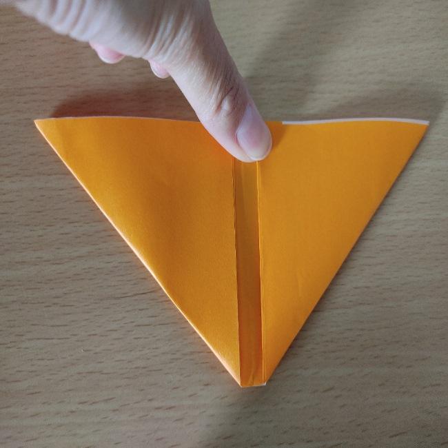 折り紙の『風船(ハート型)』の作り方 (4)