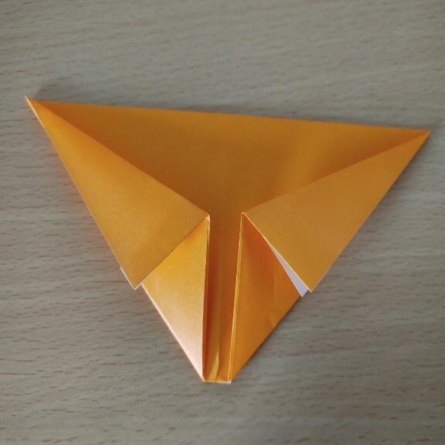 折り紙の『風船(ハート型)』の作り方 (5)